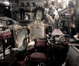 antique furniture, victorian era, and gothic image