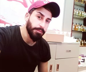 arabic, beard, and manly image