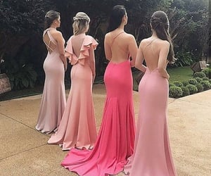 best friends, braided, and dresses image