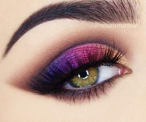 hazel eye makeup, makeup for hazel eyes, and colorful eye makeup image