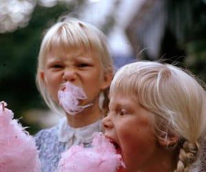 girl, kids, and pink image