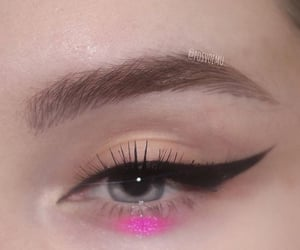 aesthetic, eye, and eye makeup image