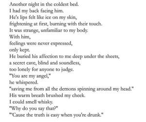 broke, drunk, and heart broken image