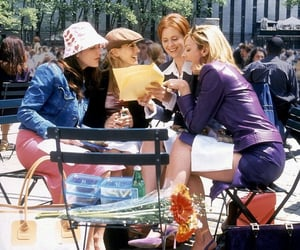 sex and the city, girls, and new york image