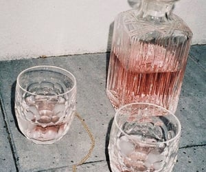 pink, drink, and wine image