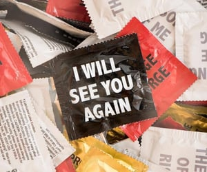 condoms, promises, and words image