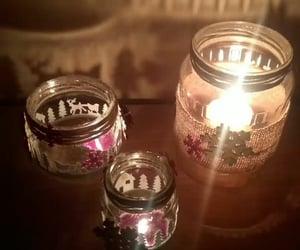 diy, shadows, and candle image