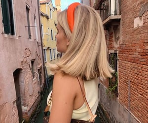 girl, venice, and venice italy image