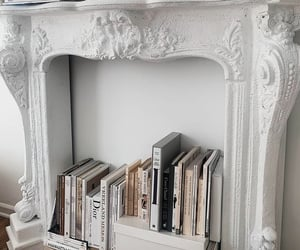 books, deco, and home image