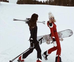 colorado, girl, and Skiing image