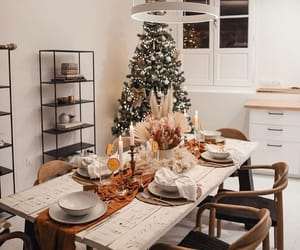 christmas tree, home, and inspiration image