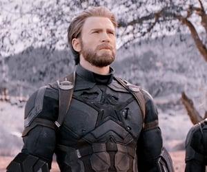 captain america, chris evans, and edit image