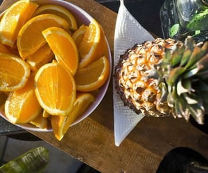 ananas, delicious, and summer image