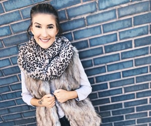 chic, fall fashion, and faux fur image