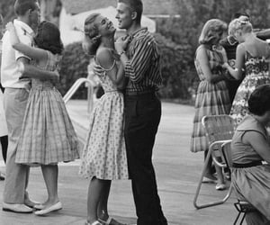 70s, couple, and love image