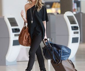 fashion, bag, and airport image