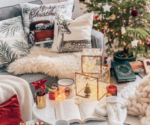 aesthetic, book, and christmas image