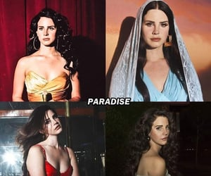 paradise, lana del rey, and ladymoon image