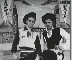 elvis and vintage image