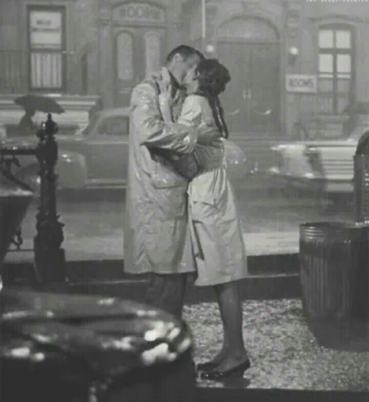 love, Breakfast at Tiffany's, and rain image