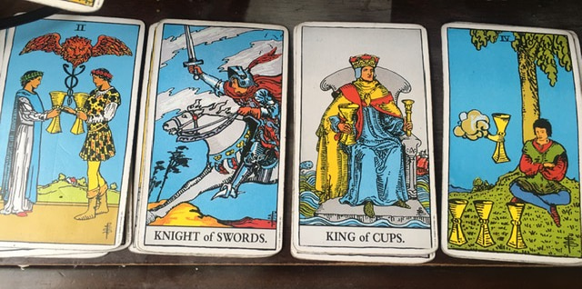 advice, full moon, and pick a card image