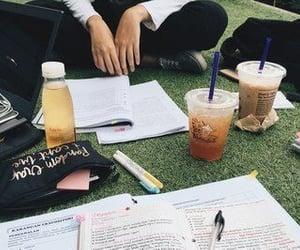 study, college, and aesthetic image