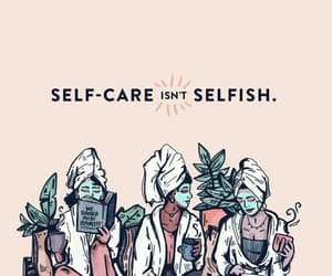 article, girls, and selfcare image