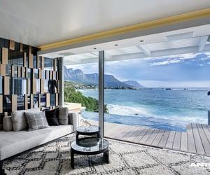 sea, beautiful, and home image