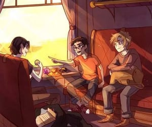 harry potter, marauders, and james potter image