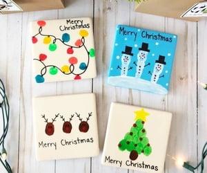 christmas tree, decorations, and lights image