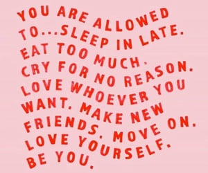 quotes, inspiration, and love yourself image