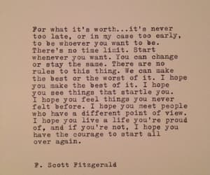 quotes, life, and f. scott fitzgerald image