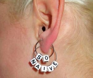 earrings and naive image