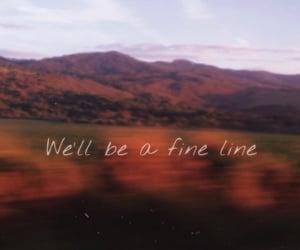 fine line, Lyrics, and music image