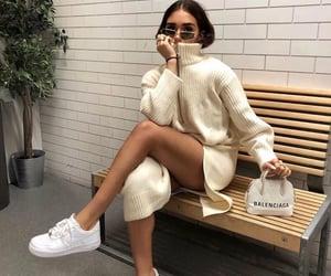 fashion, Balenciaga, and girl image