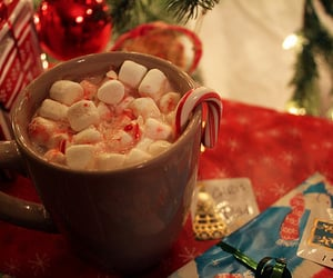 marshmallow, christmas day, and merry christmas image