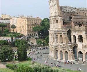 architecture, cityscape, and colosseum of rome image