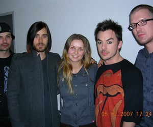 30 seconds to mars, jared leto, and shannon leto image