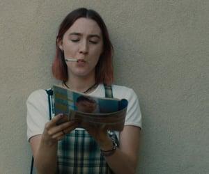 Saoirse Ronan, lady bird, and gif image
