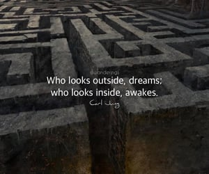 carl jung, dreaming is wonderful, and look outside =dreams image