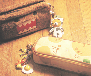 cute, domo, and kawaii image