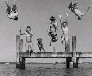 summer, friends, and vintage image