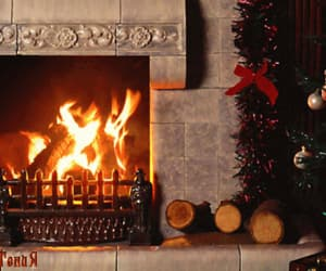 cozy, holidays, and fire image