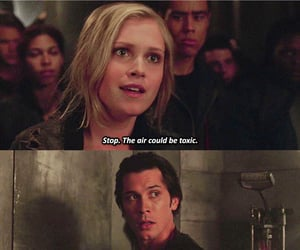 the 100, bob morley, and eliza morley image