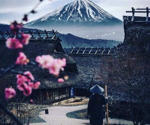 fuji, japan, and landscape image