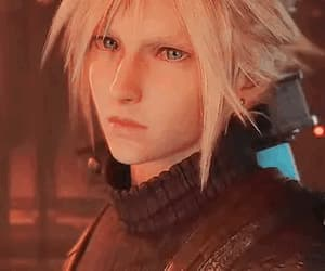 aesthetic, boy, and cloud strife image