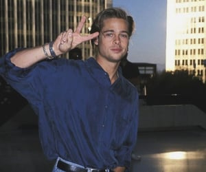 90s, brad pitt, and actor image
