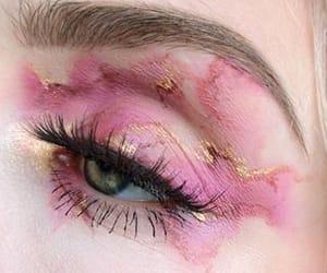 eye, aesthetic, and make up image