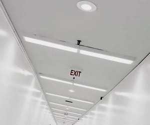 aesthetic, exit, and white image
