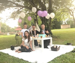 picnic, birthday celebration, and outdoor party image